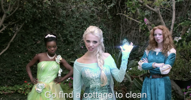 Yes, The Disney Princesses Had A Rap Battle And It Was Seriously Fierce